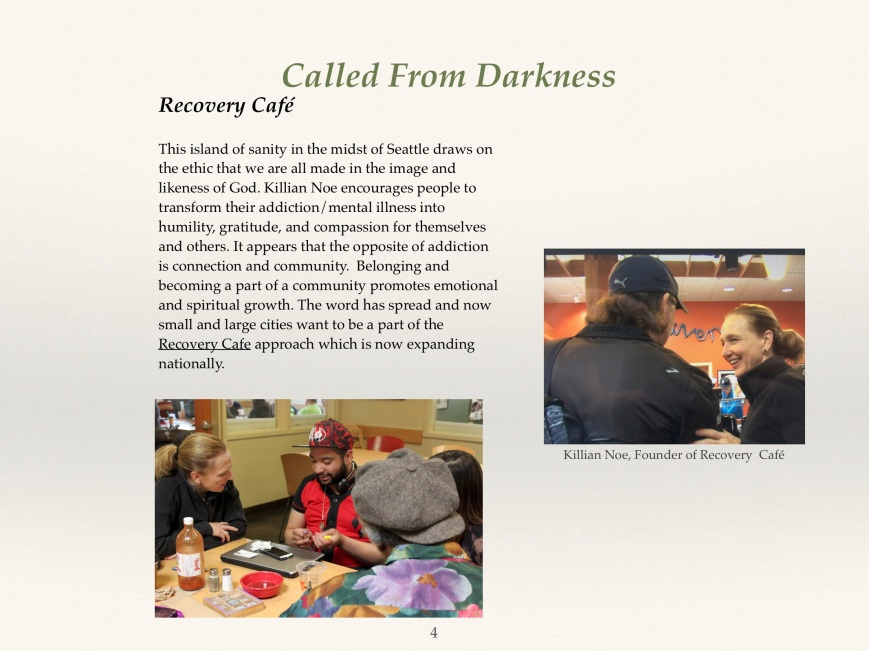 about the series (1) recovery cafe